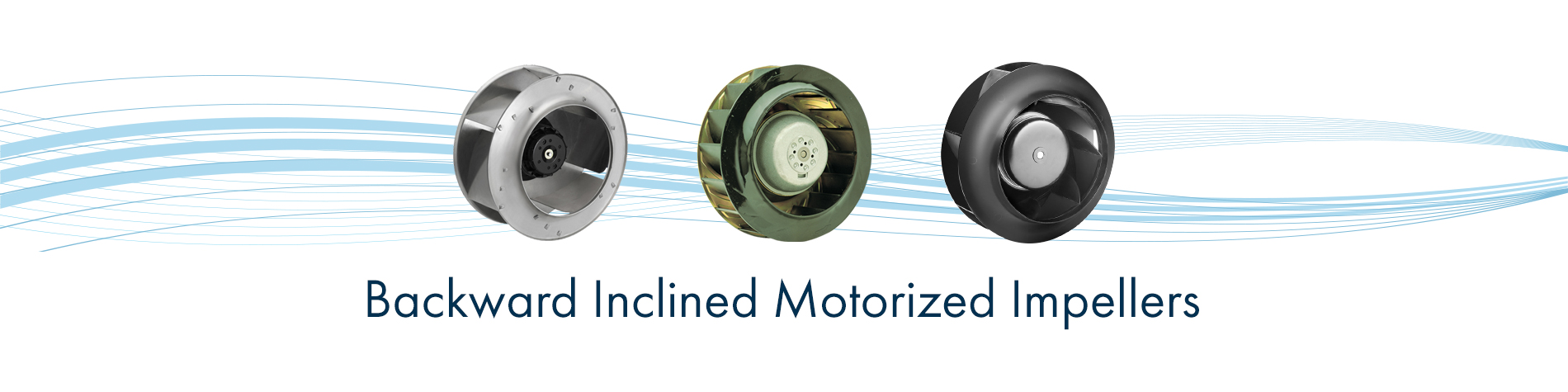 Backward Curved Motorized Impeller Fans